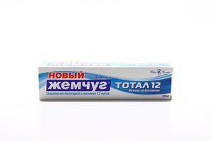 Зубная паста Тотал 12 Нежное отбеливание Новый жемчуг 100мл