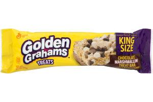 Golden Grahams Treats Chocolate Marshmallow Treat Bar King Size