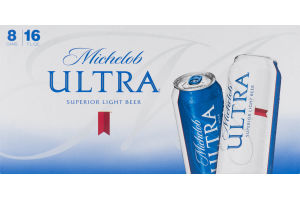 Michelob Ultra Cans - 8 PK