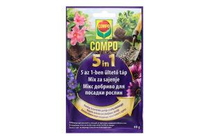 Добриво для посадки рослин 5в1 Compo 40г