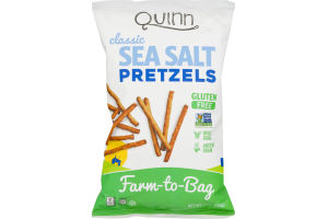 Quinn Classic Sea Salt Whole Grain Pretzels
