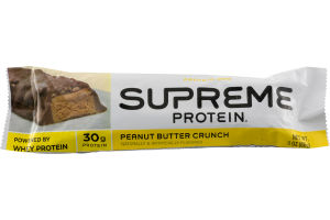 Supreme Protein Bar Peanut Butter Crunch