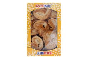 Печиво здобне листкове Вушка Королівські Бом-Бік к/у 0.29кг