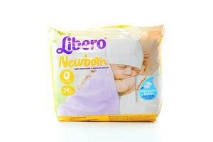 Підгузники Libero Newborn 24шт x12