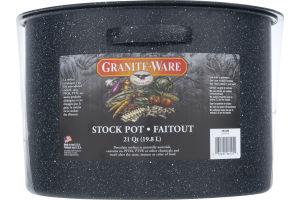 Granite-Ware 21 Quart Stock Pot