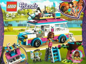 LEGO® Friends Передвижная научная лаборатория Оливии 41333