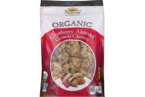 New England Naturals Organic Granola Clusters Cranberry Almond