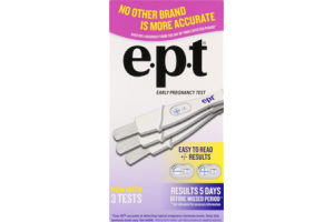 E.P.T. Early Pregnancy Test - 3 CT