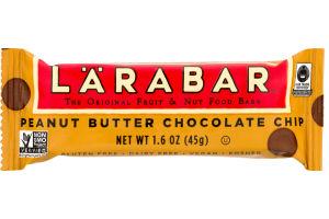 Larabar Fruit & Nut Food Bar Peanut Butter Chocolate Chip
