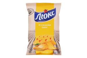 Чипсы картофельные Сыр Люкс м/у 25г