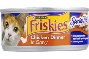 Purina Friskies Special Diet Meaty Bits Chicken Dinner in Gravy Cat Food