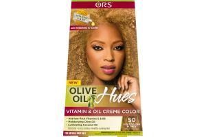 ORS Olive Oil Hues Vitamin & Oil Creme Color 50 Light Golden Blonde
