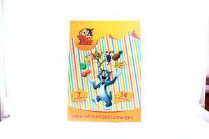 Набір кольорового картону 14арк 02210