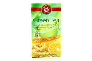 Чай зеленый Ginger-orange Teekanne к/у 20х1.75г