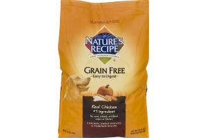 Nature's Recipe Grain Free Dog Food Chicken, Sweet Potato, & Pumpkin Recipe