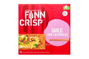 Сухарики зі смаком часнику Finn Crisp к/у 175г