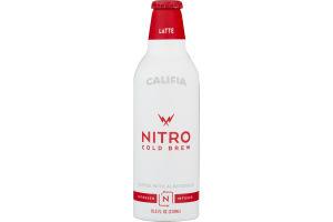 Califia Nitro Cold Brew Coffee With Almondmilk Latte