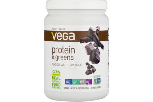 Vega Plant-Based Protein & Greens Chocolate
