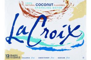 La Croix Coconut Flavored Sparkling Water - 12 PK