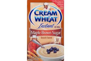 Cream of Wheat Instant Hot Cereal Maple Brown Sugar - 10 CT