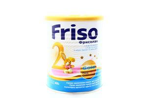 Смесь Фрисолак 2 Gold сухая молочная 6-12мес Friso ж/б 400г