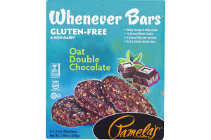 Pamela's Whenever Bars Oat Double Chocolate - 5 CT