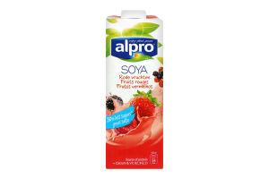 Напій соєвий Alpro Червоні фрукти т/б 1л Бельгія х6
