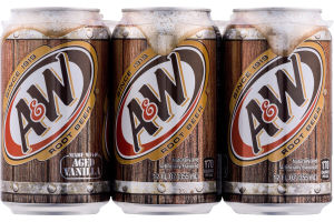 A & W Root Beer - 6 CT