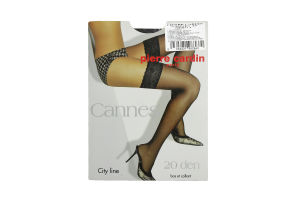 Чулки жен.P.Cardin Cannes 20D Nero 3