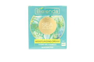 Крем для лица увлажняющий легкий Морские водоросли Bielenda 50мл
