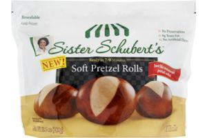 Sister Schubert's Soft Pretzel Rolls - 6 CT