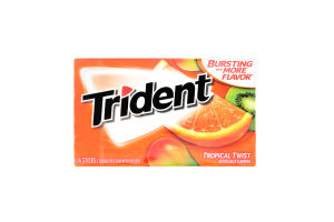 Резинка жевательная Trident тропик