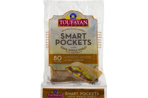 Toufayan Bakeries Smart Pockets Whole Wheat - 6 CT
