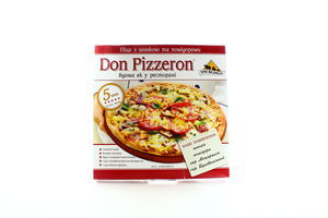 Пицца с ветчиной и помидорами Don Pizzeron с/м 350г