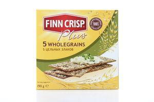 Сухарики ржаные 5 злаков Finn Crisp к/у 190г