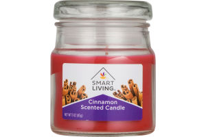 Smart Living Scented Candle Cinnamon