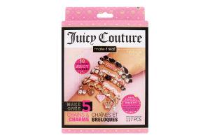 Міні-набір для дітей від 8років для створення шарм-браслетів №MR4431 Королівський шарм Juicy Couture Make It Real 1шт