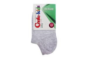 Шкарпетки дитячі Conte Kids №17C-63СП 12 світло-сірий