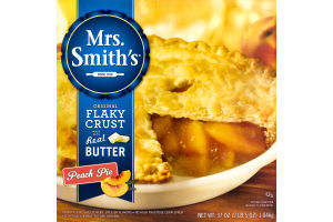 Mrs. Smith's Peach Pie Original Flaky Crust