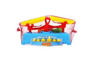 Іграшка Полесье Набір Ваги +продукти 12ел. у сітці 53787