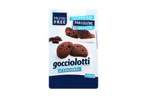 Печенье Nutri Free Гоччолотти какао/шокол.крошка
