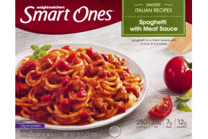 Weightwatchers Smart Ones Spaghetti with Meat Sauce