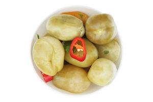 Помідори солоні бочкові зелені гострі (кг)