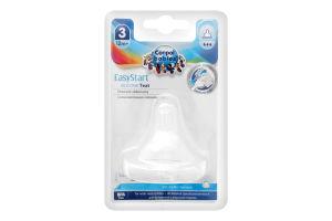 Соска для детей от 12мес молочная силиконовая №21/722 EasyStart Canpol babies 1шт