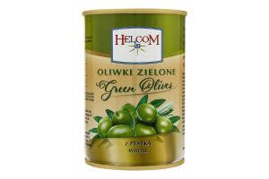Оливки зел с кост Helcom 300г