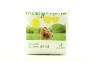 Friendly прокладки ультра Organic Care Normal Extra Soft, 10шт