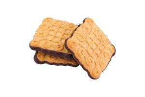 Печиво здобне зі смаком чорної смородини Маргаритка Деліція кг
