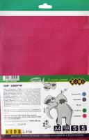 Набір кольорового паперу з блискітками 5 аркушів 5 кольорів А4 №ZB.1962 Kids Line Zibi 1шт