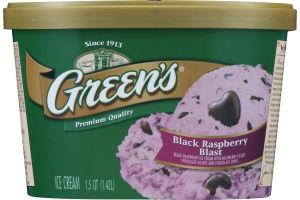 Green's Ice Cream Black Raspberry Blast