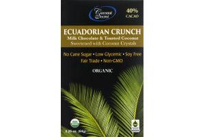 Coconut Secret Ecuadorian Crunch Milk Chocolate & Toasted Coconut